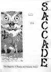 Saccade #8 cover