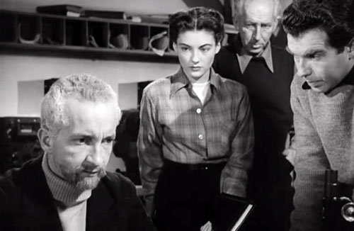 The Thing (1951) Dr Carrington