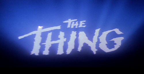 The Thing (1982) titles