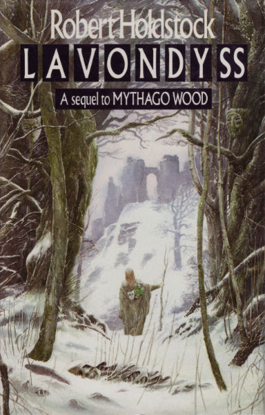 Lavondyss UK HB cover by Alan Lee